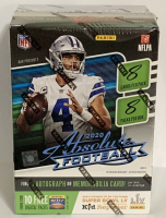 2020 Panini Absolute Football 8-Pack Blaster Box at PristineAuction.com