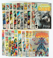 Lot of (21) Marvel Comic Books with The Guardians Of The Galaxy, Deathlok, The Infinity War at PristineAuction.com