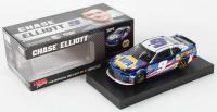 Chase Elliott 2019 NASCAR #9 NAPA Batteries Patriotic - Color Chrome - 1:24 Premium Action Diecast Car at PristineAuction.com