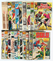 Lot of (21) Marvel Comic Books with The Infinity War, Justice, Sabretooth at PristineAuction.com