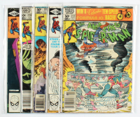 "Lot of (5) 1981-82 ""The Amazing Spider-Man"" Marvel Comic Books with #217, #218, #220, #222, & #224 at PristineAuction.com"