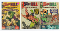 "Lot of (3) 1965-1967 ""Tales To Astonish"" Marvel Comic Books with #73, #75, & #87 at PristineAuction.com"