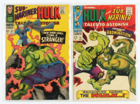 "Lot of (2) 1967 ""Tales To Astonish"" Marvel Comic Books with #89 & #91 at PristineAuction.com"