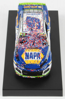 Chase Elliott 2019 NASCAR #9 NAPA Auto Parts - Charlotte Win - Raced Version - 1:24 Premium Action Diecast Car at PristineAuction.com
