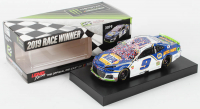 Chase Elliott 2019 NASCAR #9 NAPA Auto Parts - Charlotte Win - Raced Version - 1:24 Premium Action Diecast Car at PristineAuction.com
