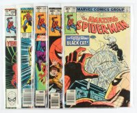 """Lot of (5) 1980-83 """"The Amazing Spider-Man"""" Marvel Comic Books with #205, #206, #207, #240 & #245 at PristineAuction.com"""