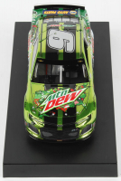 Chase Elliott 2019 NASCAR #9 Mountain Dew Dewnited States - Color Chrome - 1:24 Premium Action Diecast Car at PristineAuction.com