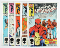 "Lot of (5) 1984-86 ""The Amazing Spider-Man"" Marvel Comic Books with #257, #277, #276, #273 & #260 at PristineAuction.com"