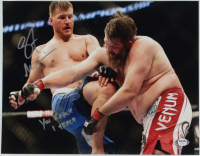 "Stipe Miocic Signed UFC 11x14 Photo Inscribed ""You Reach I Teach"" (PSA COA) at PristineAuction.com"