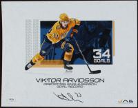 Viktor Arvidsson Signed Predators 11x14 Photo (PSA COA) at PristineAuction.com