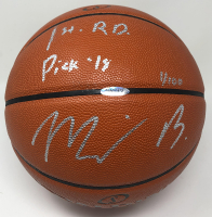 "Miles Bridges Signed Spalding LE Basketball Inscribed ""1st RD Pick '18"" (UDA COA) at PristineAuction.com"