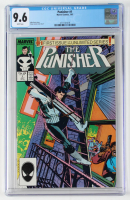 "1987 ""The Punisher"" Issue #1 Marvel Comic Book (CGC 9.6) at PristineAuction.com"