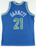 "Kevin Garnett Signed Timberwolves Jersey Inscribed ""HOF 2020"" & ""The Big Ticket"" (Fanatics Hologram) at PristineAuction.com"