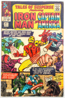 "Lot of (5) Vintage 1965 ""Tales of Suspense Featuring Iron Man & Captain America"" Marvel Comic Books with Issues #67-71 at PristineAuction.com"