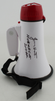 "Jimmy Hart Signed Megaphone Inscribed ""Mouth of the South"" & ""2005 HOF"" (PSA COA) at PristineAuction.com"
