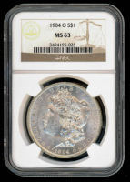 1904-O Morgan Silver Dollar (NGC MS63) at PristineAuction.com