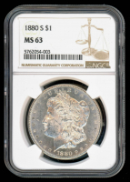 1880-S Morgan Silver Dollar (NGC MS63) at PristineAuction.com