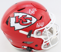 "Clyde Edwards-Helaire Signed Chiefs Full-Size Authentic On-Field SpeedFlex Helmet Inscribed ""Glyde"" (JSA COA) at PristineAuction.com"