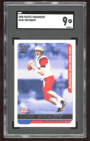 Tom Brady 2000 Paramount #138 RC (SGC 9) at PristineAuction.com