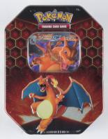 Pokemon TCG: Hidden Fates Tin - Charizard Factory Sealed at PristineAuction.com