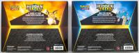 Lot of (2) Pokemon Hidden Fates Collection Box / Raichu-GX & Gyarados-GX at PristineAuction.com