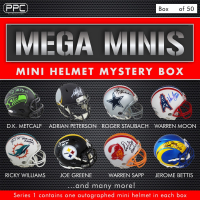 Press Pass Collectibles 2020 Mega Mini Helmet Mystery Box – Series 1 (Limited to 50) at PristineAuction.com