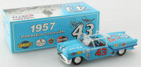 Richard Petty Signed LE #43 1957 Oldsmobile Convertible 1:24 Diecast Car (JSA COA) at PristineAuction.com