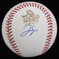 George Springer Signed Official 2017 World Series Baseball (Beckett COA) at PristineAuction.com