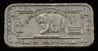 1 One Gram .999 Fine Niobium Bullion Bar at PristineAuction.com