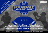 Press Pass Collectibles 2020 Football Jersey Mystery Box – Series 7 (Limited to 50 ) at PristineAuction.com