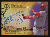 Ken Griffey Jr. 2015 Topps Tribute Rightful Recognition Autographs Purple #NOWKG at PristineAuction.com