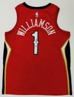 Zion Williamson Signed Pelicans Jersey (Fanatics Hologram) at PristineAuction.com