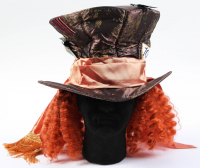 """Johnny Depp Signed """"Alice in Wonderland"""" Mad Hatter Hat (PSA Hologram) at PristineAuction.com"""