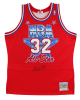 Magic Johnson Signed 1991 NBA All-Star Jersey (Beckett COA) at PristineAuction.com