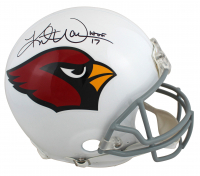 "Kurt Warner Signed Cardinals Full-Size Authentic On-Field Helmet Inscribed ""HOF 17"" (Beckett COA) at PristineAuction.com"