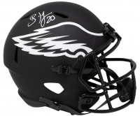 Brian Dawkins Signed Eagles Full-Size Eclipse Alternate Speed Helmet (JSA COA) at PristineAuction.com