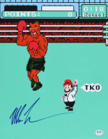 "Mike Tyson Signed ""Punch-Out!!"" 11x14 Photo (PSA COA) at PristineAuction.com"