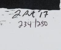 Prince - Joshua Barton 12x18 Limited Edition Lithograph #/250 at PristineAuction.com