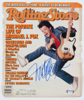 Michael J. Fox Signed 1987 Rolling Stone Magazine Cover (PSA Hologram) at PristineAuction.com