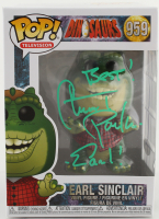 "Stuart Pankin Signed ""Dinosaurs"" #959 Earl Sinclair Funko Pop! Vinyl Figure Inscribed ""Best!"" & ""Earl!"" (PSA Hologram) at PristineAuction.com"