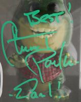 "Stuart Pankin Signed ""Dinosaurs"" #959 Earl Sinclair Funko Pop! Vinyl Figure Inscribed ""Best!"" & ""Earl!"" (PSA Hologram) at PristineAuction.com"