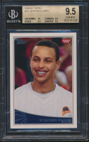 Stephen Curry 2009-10 Topps #321 RC (BGS 9.5) at PristineAuction.com