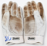 Pair of (2) Nick Ahmed Signed Game-Used Batting Gloves (PSA COA) at PristineAuction.com