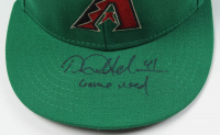 "Daniel Hudson Signed Game-Used Diamondbacks St. Patricks New Era Cap Inscribed ""Game Used"" (MLB Hologram) at PristineAuction.com"