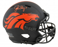 John Elway Signed Broncos Full-Size Authentic On-Field Eclipse Alternate Speed Helmet (Beckett COA) at PristineAuction.com