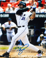 Mike Piazza Signed Mets 8x10 Photo (PSA COA) at PristineAuction.com