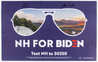 Joe Biden Signed 14x22 Campaign Sign (Beckett LOA) at PristineAuction.com