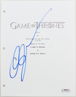 "Gwendoline Christie Signed ""Game of Thrones"" Episode Script Cover (PSA Hologram) at PristineAuction.com"