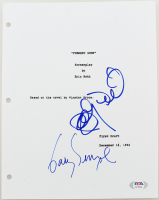 "Gary Sinise & Sally Field Signed ""Forrest Gump"" Movie Script Cover (PSA Hologram) at PristineAuction.com"