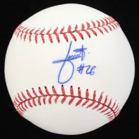 Julio Urias Signed OML Baseball (PSA COA) at PristineAuction.com